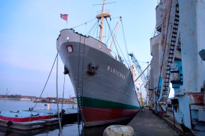 MS BLEICHEN – Eventschiff im Hamburger Hafen